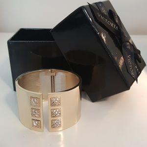 Victoria's Secret gold studded cuff